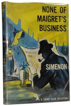 Maigret Book Cover