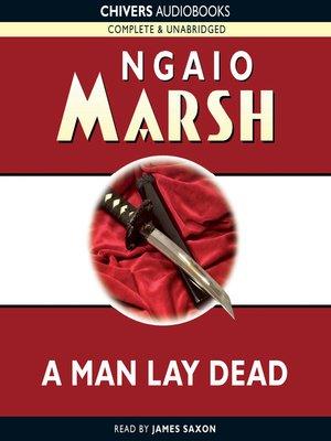 A Man Lay Dead 2